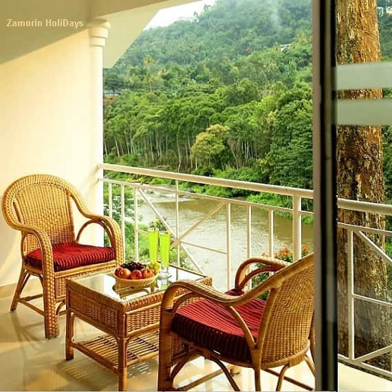 Rivulet resort Munnar view